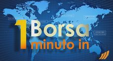 Immagine 1 minuto in Borsa 21 agosto 2017 [video]
