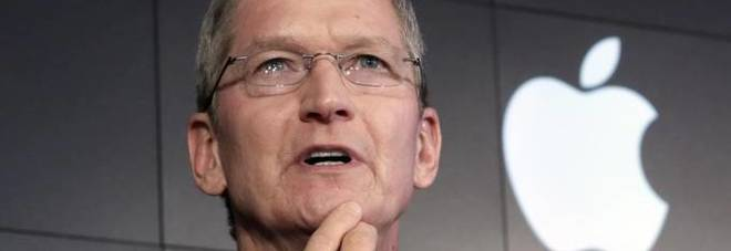 Immagine Il ceo di Apple, Tim Cook